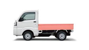 軽トラックすりきり